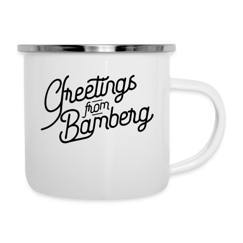 Greetings from Bamberg - Emaille-Tasse
