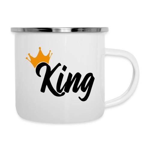 King - Tasse émaillée