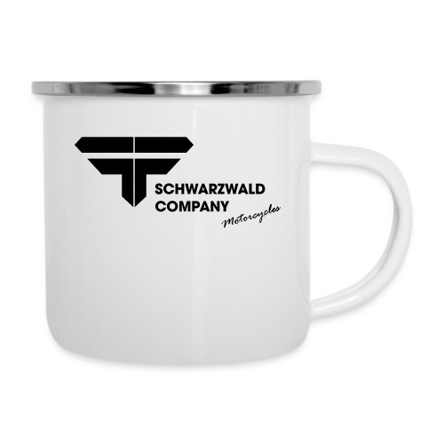 Schwarzwald Company S.C. Motorcycles - Emaille-Tasse