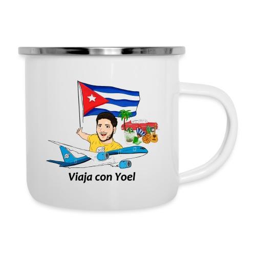 Cuba - Viaja con Yoel - Taza esmaltada