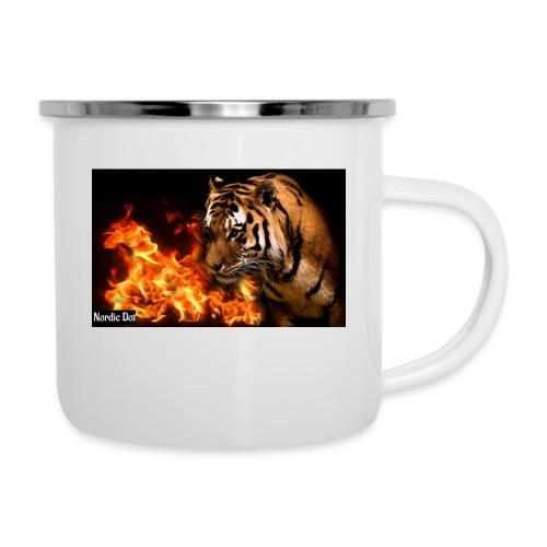 Tiger Flame - Emaljekrus