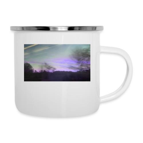 lilac sky - Emaljekrus