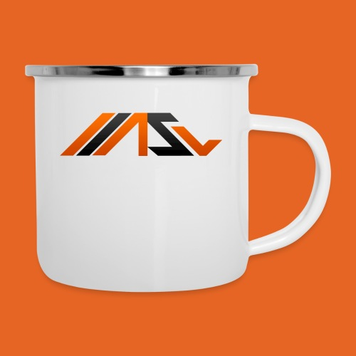 ASV New Look - Emaille-Tasse