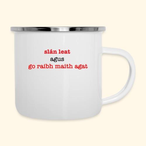 Good bye and thank you - Camper Mug