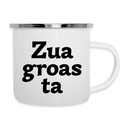 Zuagroasta - Emaille-Tasse