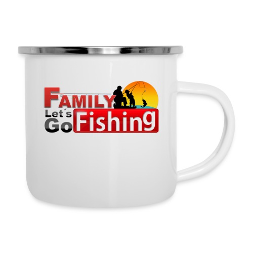 FAMILY LET'S GO FISHING FUND - Camper Mug