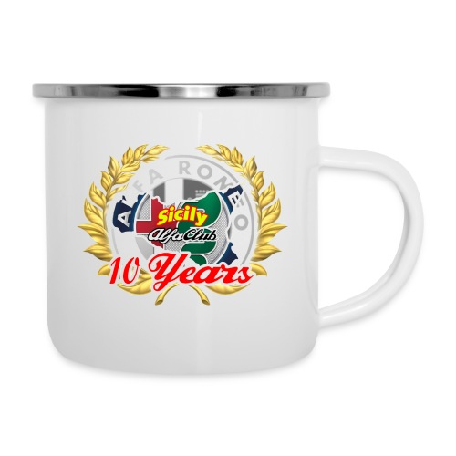 logo10 anni - Tazza smaltata