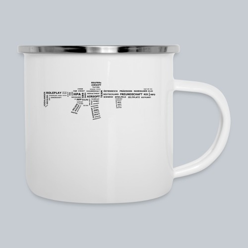 TXT RIFLE (BLACK) - REAPERs Airsoft - Emaille-Tasse