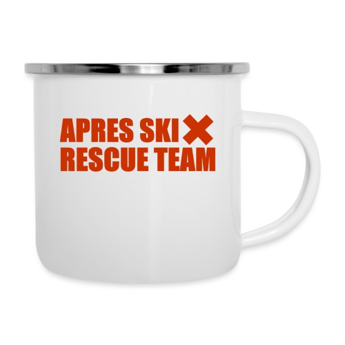 apres-ski rescue team - Emaille mok