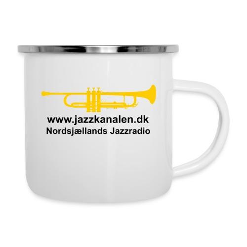 Den gyldne Jazztrompet - Emaljekrus