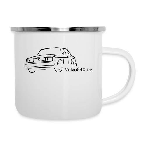 volvo240 de - Emaille-Tasse