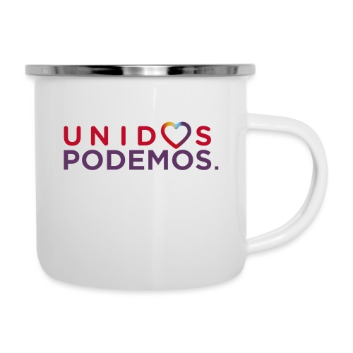 Taza Unidos Podemos 2016 Blanca - Taza esmaltada