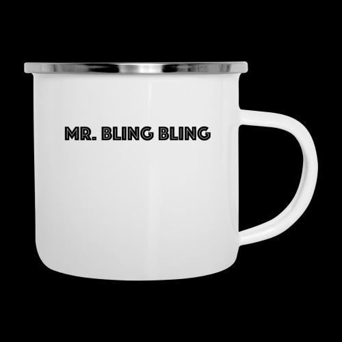 bling bling - Emaille-Tasse
