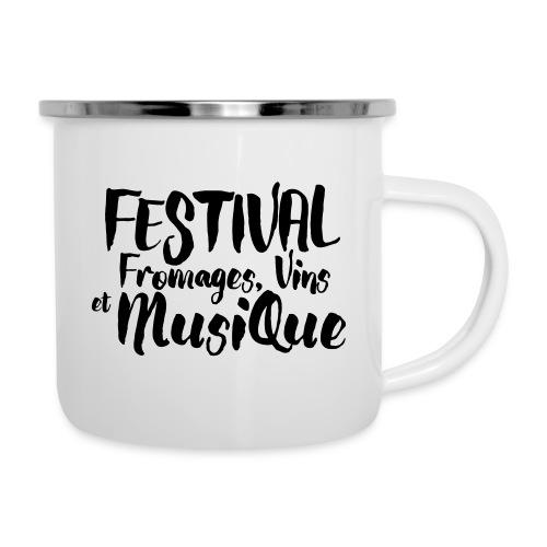 Festival FVM - Tasse émaillée