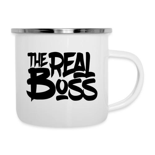 The real boss / Le vrai patron - Tasse émaillée