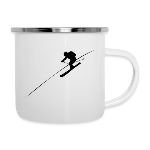 Gone skiing - Camper Mug