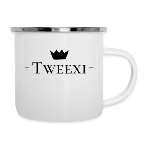 Tweexi logo - Emaljmugg