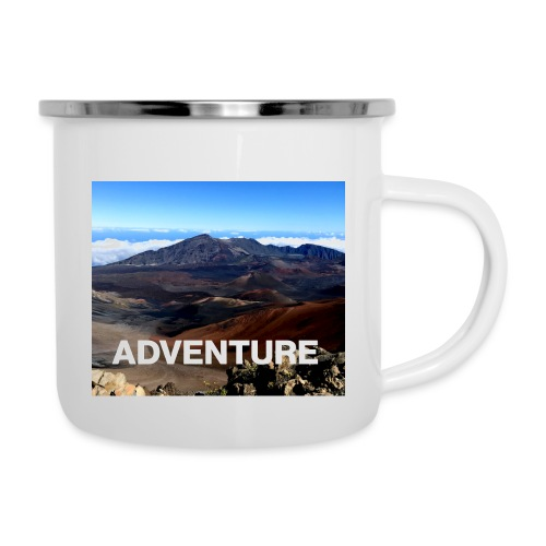 Adventure Vulkan Hawaii - Emaille-Tasse