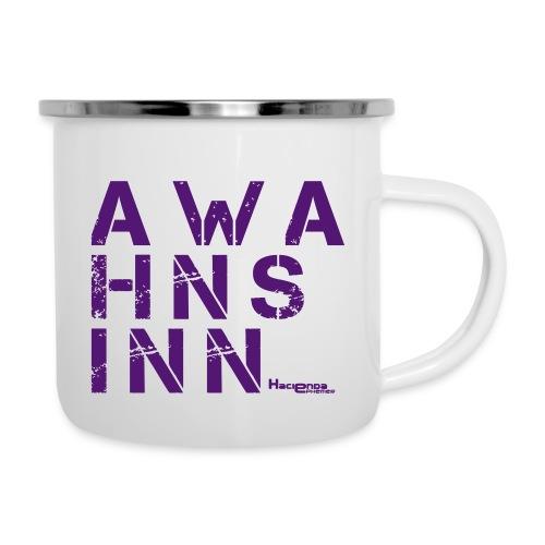 HazyShirt05awahnsinn - Emaille-Tasse