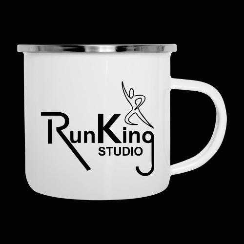 RunKingStudio - Emaille-Tasse