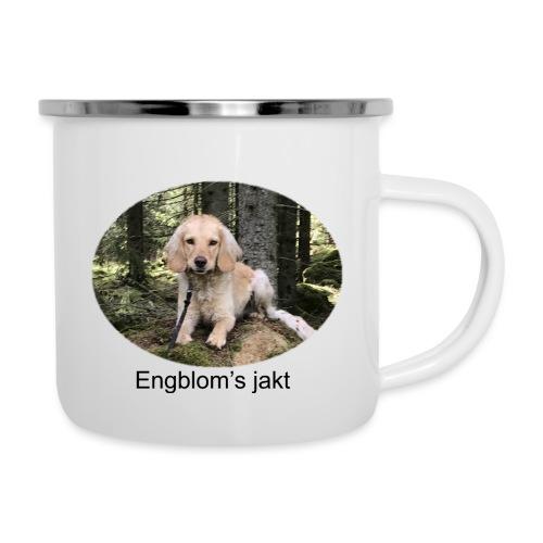 Engblom's jakt (Eichel) - Emaljmugg