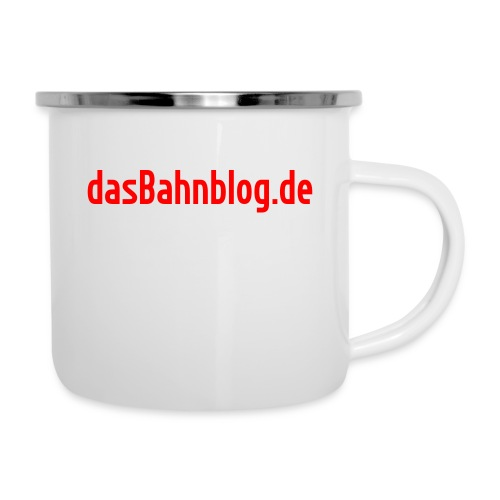 dasBahnblog de - Emaille-Tasse