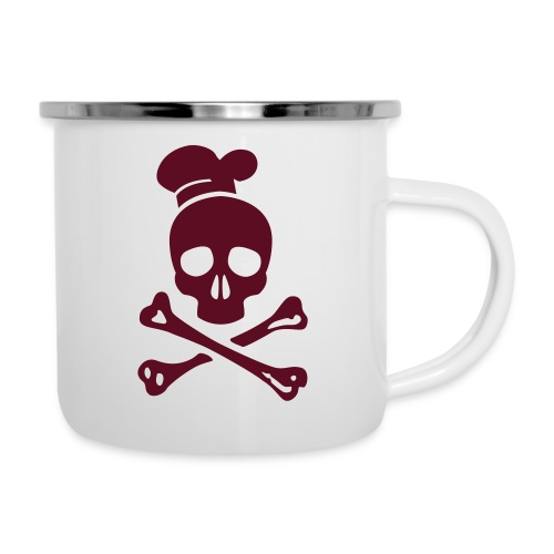 cannibal cook vector - Emaille-Tasse