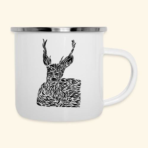 deer black and white - Emalimuki