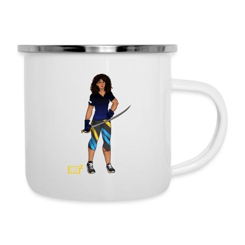 Sabre fencer - Camper Mug