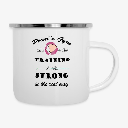 Strong in the Real Way - Tazza smaltata