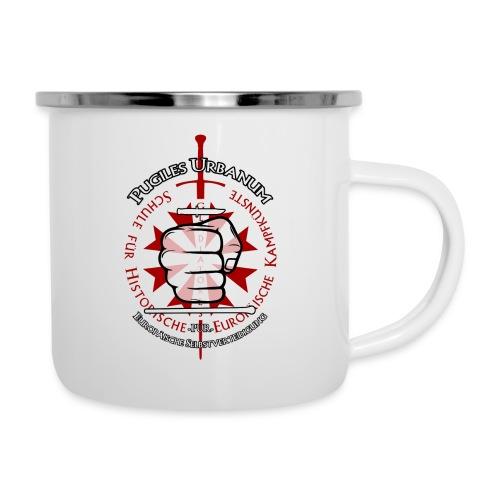 Logo frei PUR mitWa trans - Emaille-Tasse