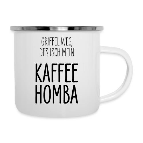 Kaffee Tasse Geschenk Schwäbisch Schwaben - Emaille-Tasse