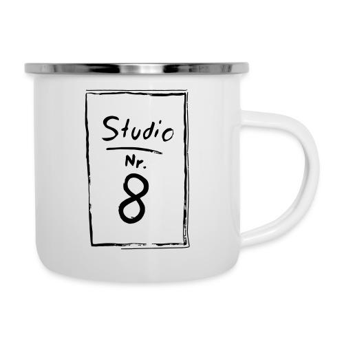 Studio Acht | Logo - Emaille-Tasse