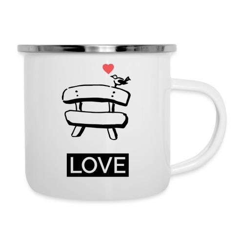 Bankerl Love - Emaille-Tasse