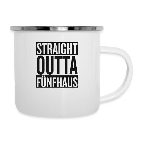 Straight Outta Fünfhaus - Emaille-Tasse