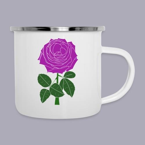 Landryn Design - Pink rose - Camper Mug