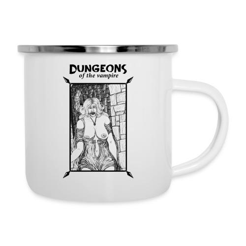 catacombs vampire black version - Camper Mug