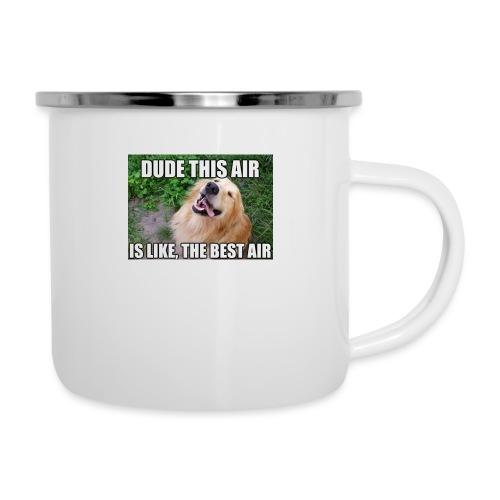Best Air - Emaille-Tasse