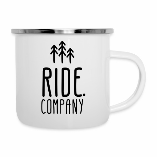 RIDE.company Logo - Emaille-Tasse