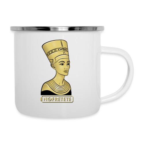 Nofretete I Königin von Ägypten - Emaille-Tasse