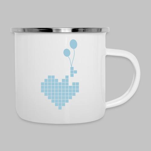 heart and balloons - Camper Mug