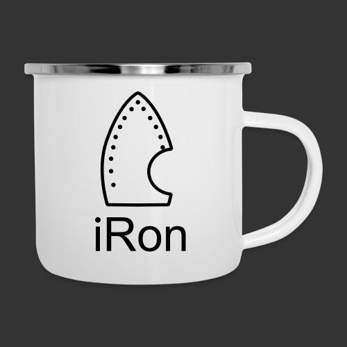 iRon - Emaille-Tasse