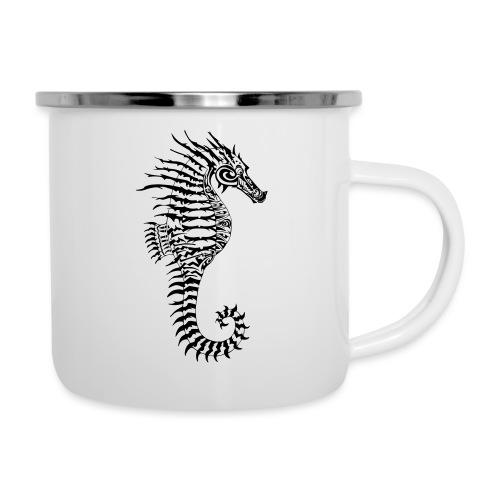 Alien Seahorse Invasion - Camper Mug