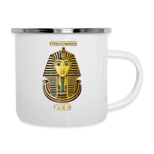 Tutanchamun I Goldmaske I Ägypten - Emaille-Tasse
