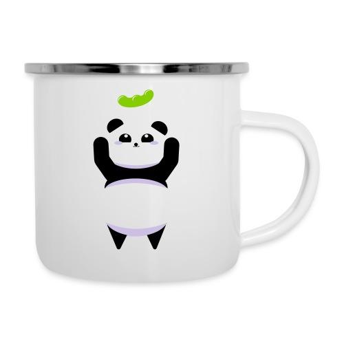 Für die Bohne Panda - Emaille-Tasse