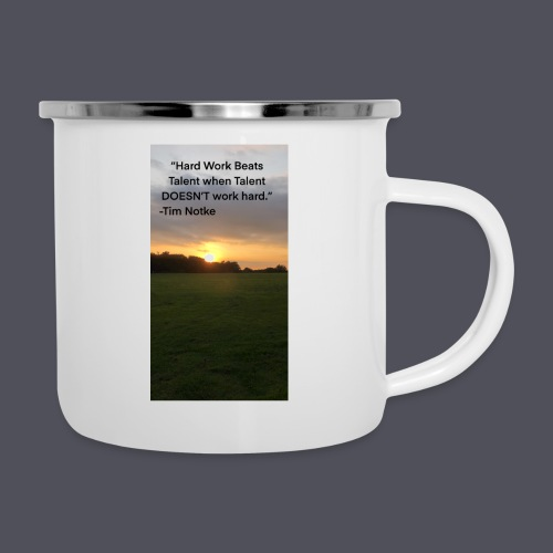 Famous Quote from Tim Notke - Camper Mug