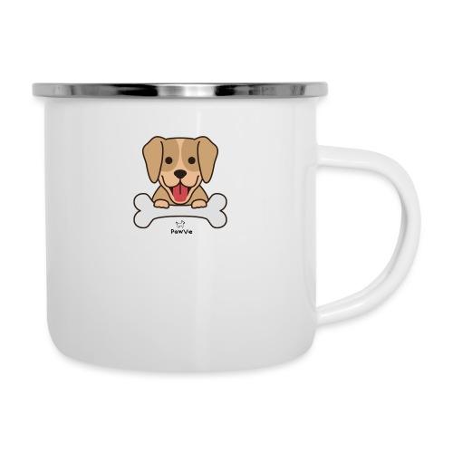 PawVie Dog - Emaille-Tasse