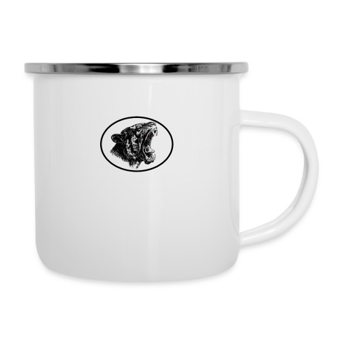 panther - Emaille-Tasse