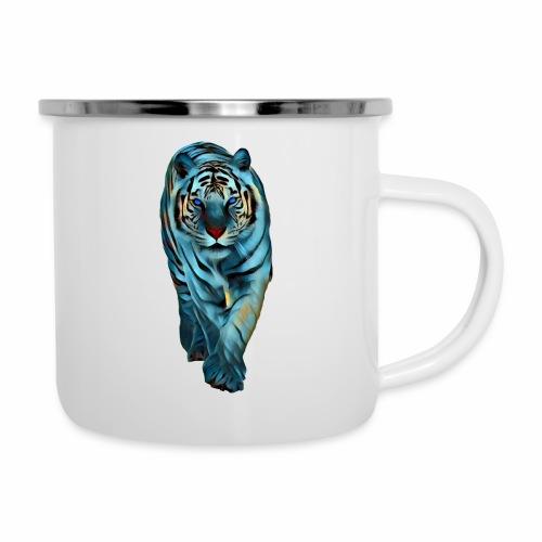 Tigre Caminando MEDIANO - Taza esmaltada