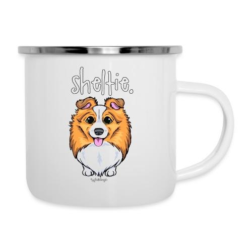 Sheltie Dog Cute 5 - Camper Mug